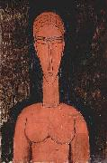 Amedeo Modigliani Rote Beste oil painting reproduction