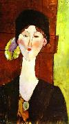 Portrait of Beatris Hastings, Amedeo Modigliani