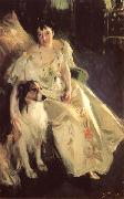 Portrait of Mrs Bacon, Anders Zorn