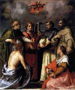 Disputation on the Trinity, Andrea del Sarto