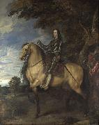 Equestrian Portrait of Charles I, Anthony Van Dyck