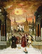 Dionysius Areopagite and the eclipse of Sun, Antoine Caron