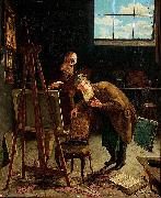 Interior from a Studio, August Jernberg