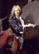 Aved, Jacques-Andre-Joseph Portrait of Pierre-Jacques Cazes oil painting reproduction