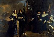 Portrait of a Family, Bartholomeus van der Helst