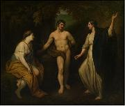 Choice of Hercules between Virtue and Pleasure, Benjamin West