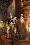 Benjamin West Prince Edward and William IV of the United Kingdom oil painting reproduction