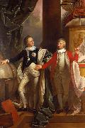 Benjamin West Prince Edward and William IV of the United Kingdom. oil painting reproduction