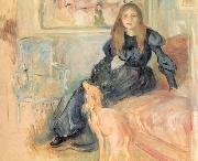 Julie Manet and her Greyhound, Laertes