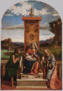 The Madonna and Child with Sts John the Baptist and Mary Magdalen, CIMA da Conegliano