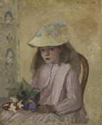 Artist s Daughter, Camille Pissarro