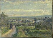 Camille Pissarro Vue de Saint-Ouen-l'Aumone oil painting reproduction