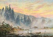 Caspar David Friedrich morning oil painting reproduction