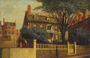 Charles Furneaux The Hancock House oil painting artist
