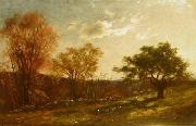 Charles Furneaux Landscape Study oil painting artist