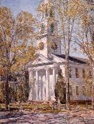 Church at Old Lyme, Childe Hassam