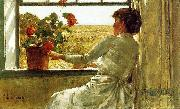 Summer Evening, Childe Hassam