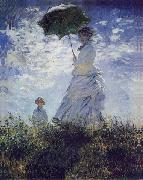 Women with umbrella, Claude Monet