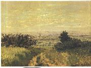 View to the plain of Argenteuil, Claude Monet