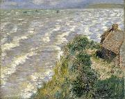 Claude Monet Rising Tide at Pourville oil painting on canvas