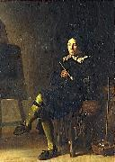 Cornelis Saftleven Self portrait oil painting reproduction