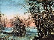 Denys Van Alsloot Winter Landscape oil painting reproduction
