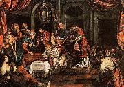 Domenico Tintoretto The Circumcision oil painting reproduction