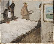 Edgar Degas Cotton Merchants in New Orleans oil painting reproduction