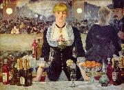 Bar in den Folies Bergere, Edouard Manet