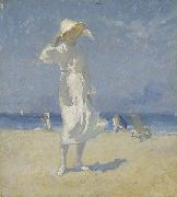 Elioth Gruner Afternoon, Bondi oil painting artist