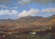 Enoch Wood Perry, Jr. Kualoa Ranch oil painting on canvas