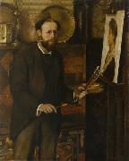 Portrait of John Collier, Evert Collier