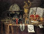 Vanitas Still Life, Evert Collier