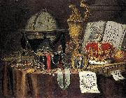 Vanitas Still-Life, Evert Collier