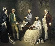 Portrait of James Byres of Tonley and his family, Franciszek Smuglewicz
