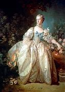 Francois Boucher Madame Bergeret oil painting on canvas