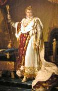 Francois Pascal Simon Gerard Napoleon in Coronation Robes oil painting reproduction