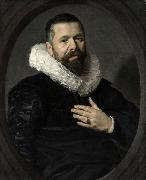 Portrait of a Bearded Man with a Ruff, Frans Hals