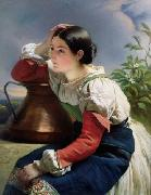 Young Italian Girl at the Well