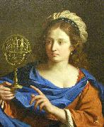 Personification of Astrology, GUERCINO