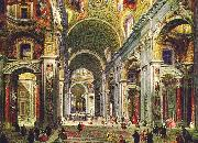 Interior of St Peter s Rome, Giovanni Paolo Pannini