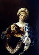 Guido Reni Salome with the Head of John the Baptist oil painting
