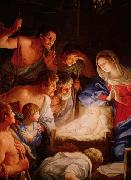 Guido Reni Adoration of the shepherds oil painting reproduction