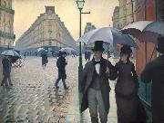Paris Street Rainy Day, Gustave Caillebotte