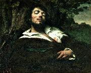 Gustave Courbet Wounded Man oil painting reproduction