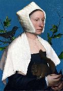 Lady with a Squirrel, Hans holbein the younger