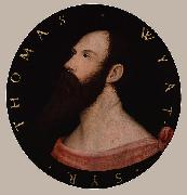 Portrait of Sir Thomas Wyatt, Hans holbein the younger