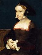 Portrait of an English Lady, Hans holbein the younger