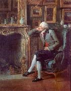 Henri-Pierre Danloux The Baron de Besenval in his Salon de Compagnie oil painting artist