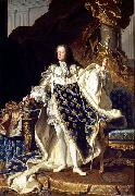 Hyacinthe Rigaud Portrait of Louis XV oil painting reproduction